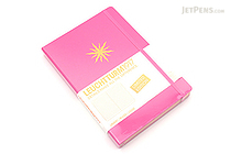 Leuchtturm1917 Copper Gilt Edge Notebook - A5 - New Pink - Ruled - LEUCHTTURM1917 349203