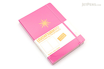 Leuchtturm1917 Copper Gilt Edge Notebook - A5 - New Pink - Plain - LEUCHTTURM1917 349206