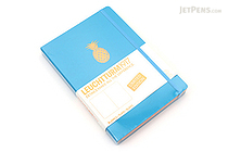 Leuchtturm1917 Copper Gilt Edge Notebook - A5 - Azure - Plain - LEUCHTTURM1917 349209