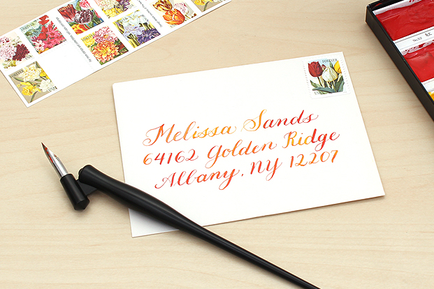 Watercolor calligraphy for beginners jetpens