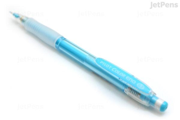 Pilot Color Eno Erasable Mechanical Pencil 0 7 Mm Soft Blue Body