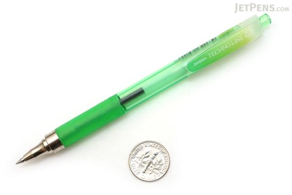 Zebra Techno Line Ballpoint Pen - 0.4 mm - Light Green ...