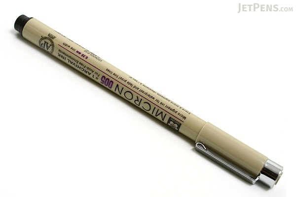 how to use micron pens