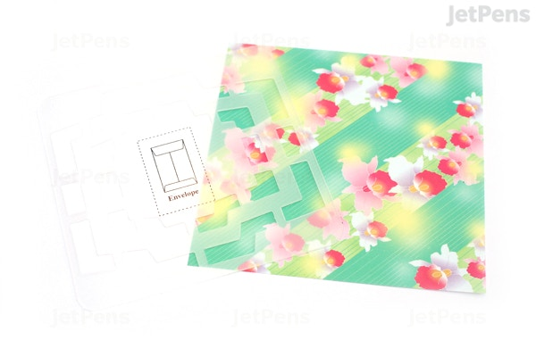 Kuretake handmade mini envelope template jetpens. Com.