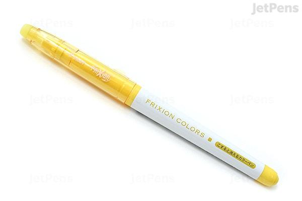 Jetpens Com Pilot Frixion Colors Erasable Marker Yellow
