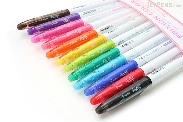 Pilot Frixion Colors Erasable Marker 12 Color Set