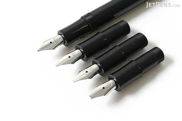 Kaweco calligraphy pen set black nib sizes jetpens