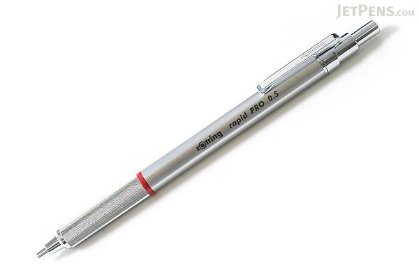 Rotring Rapid Pro Drafting Pencil Mm Silver Body JetPenscom - Drafting pencil