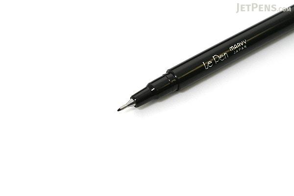 ... Marvy Le Pen Marker Pen - Fine Point - Black - MARVY 43010 ...