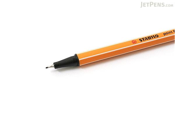 Stabilo Point 88 Fineliner Marker Pen 0 4 Mm Black