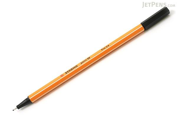 Stabilo point 88 fineliner marker pen 0 4 mm black for Liner piscine 3 60 x 0 90