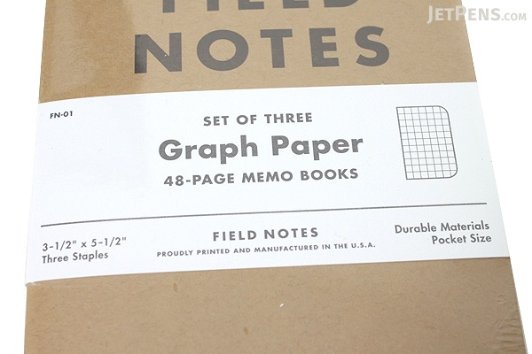 Field Notes Original Kraft Memo Books 35 x 55 48 Pages – Field Note