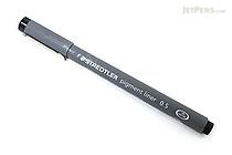 Staedtler pigment liner marker pen 0 3 mm black for Liner piscine 3 60 x 0 90