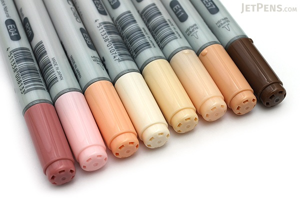 copic ciao marker 8 skin color set copic imngaskn - Skin Color Markers