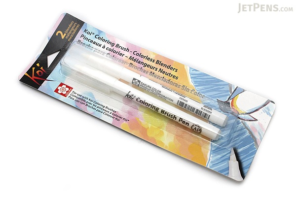 Sakura koi coloring brush pen blender pack of 2 for Koi brush pen