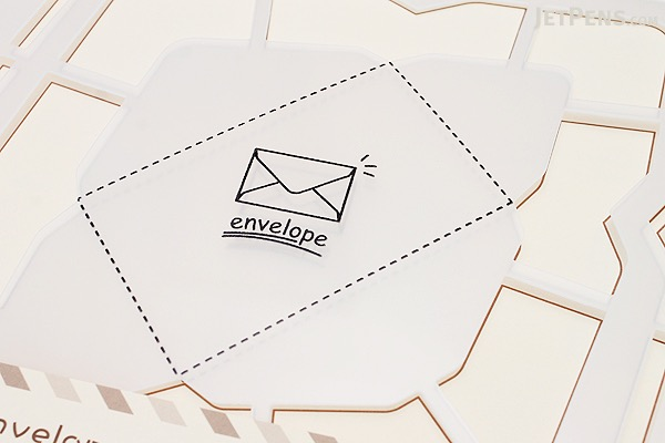 Kuretake Handmade Envelope Template Western Version JetPens – Envelope Template