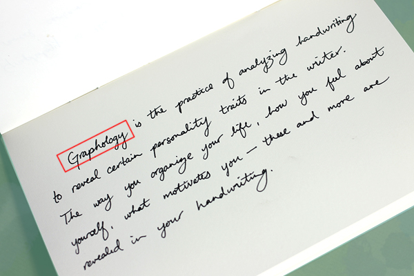 cursive writing sample Learning cursive is a personal goal i've set for myself, and my research about how to relearn cursive led me on a rewarding and fascinating journey.