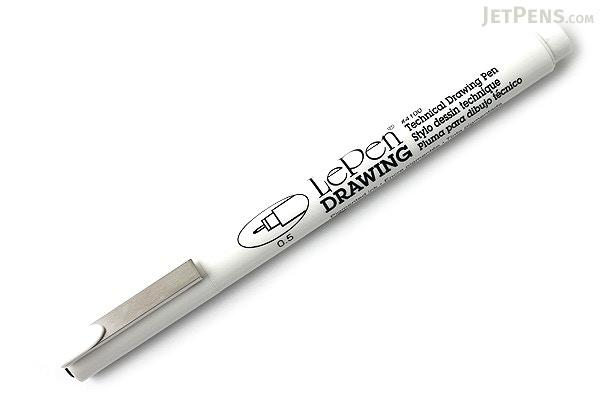 Marvy Le Pen Technical Drawing Pen - 0.5 mm - Black - MARVY 4100-0.5 ...