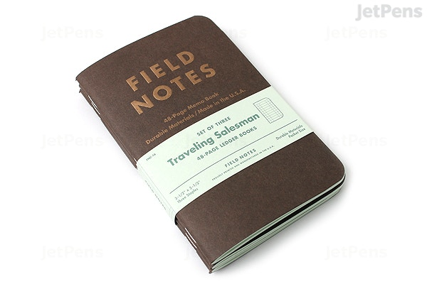 Field Notes Color Cover Memo Book - Traveling Salesman Limited ...