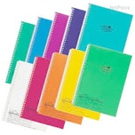 Lihit Lab Aqua Drops Twist Ring Notebooks