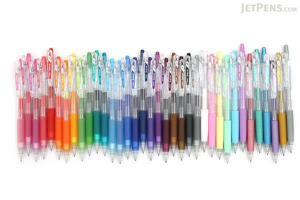 Pilot Juice Gel Pen - 0.5 mm - 6 Color Set - Pastel - JetPens.com