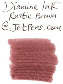 diamine rustic brown ink 80 ml bottle jetpens com