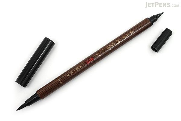Uni Mitsubishi Double Sided Brush Pen Fine Bold