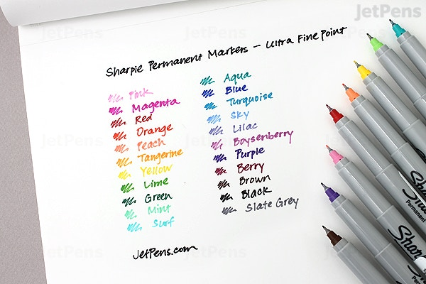 Jetpens Com Sharpie Permanent Marker Ultra Fine Point Boysenberry