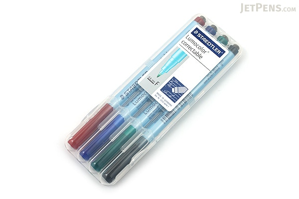 Staedtler Lumocolor Correctable Dry Erase Pen - Fine Point
