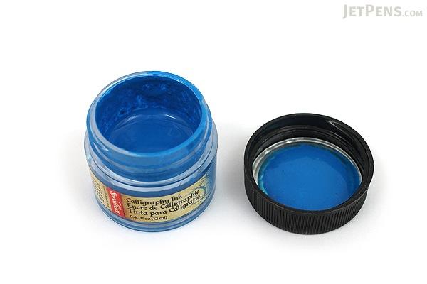Speedball Indigo Blue Calligraphy Ink Pigmented Acrylic