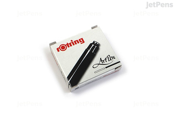 Rotring ArtPen Black Ink - 6 Cartridges - JetPens.com