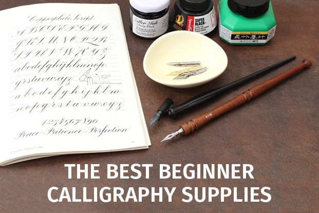 The Best Calligraphy Supplies For Beginners: calligraphy basics