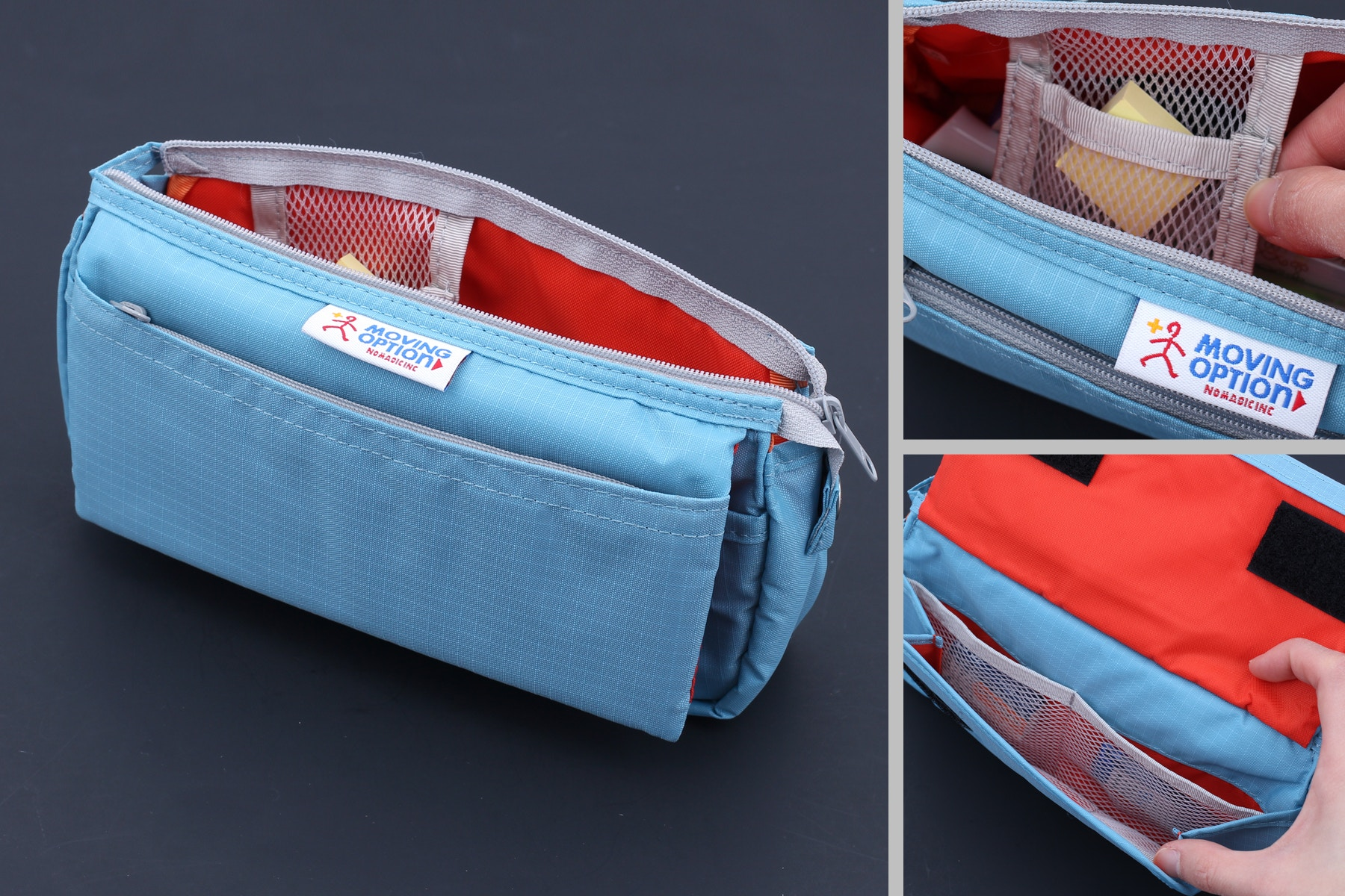 0e6541ad70d1 Nomadic PE-09 Flap Type Pencil Case