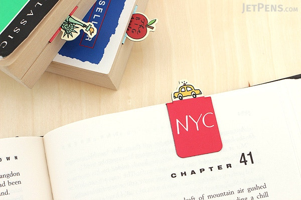 Galison Magnetic Bookmarks New York City