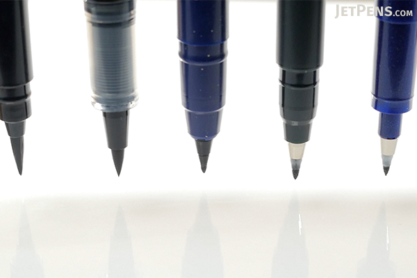 Tombow Fudenosuke Brush Pen Soft Black Body