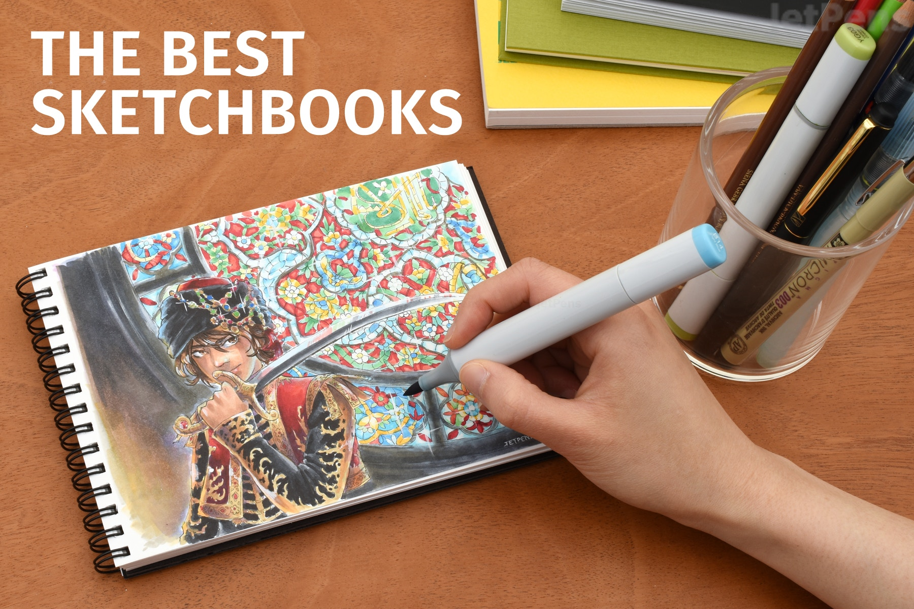 The Best Sketchbooks For Every Medium Jetpens