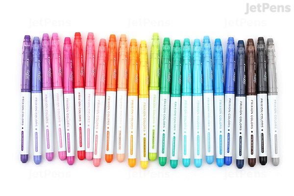 Jetpens Com Pilot Frixion Colors Erasable Marker 24 Color Bundle