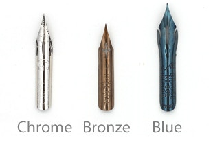 Nibs Are Made Of Metal Typically Stainless Steel Some Treated With A Coating For Cosmetic Ie Chrome Bronze And Practical Purposes