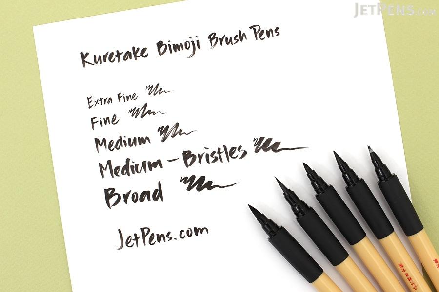 Kuretake Bimoji Brush Pen Fine