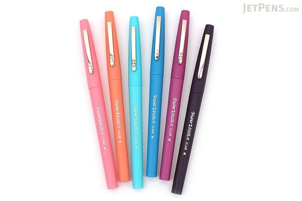 ... Paper Mate Flair Felt Tip Pen - Medium Point - Tropical Vacation - 6  Color Set ...