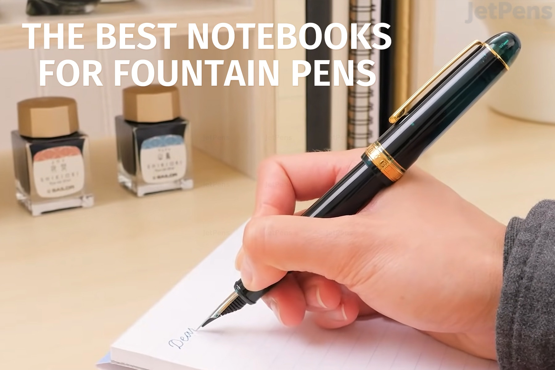 The Best Notebooks For Fountain Pens 2019 Review Jetpens