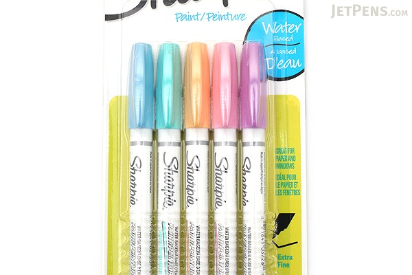 Sharpie Oil Based Paint Marker Set 5/Pkg - Aqua,Orange,Lime,Green,Pink and  Purple | Paint markers, Sharpie and Markers