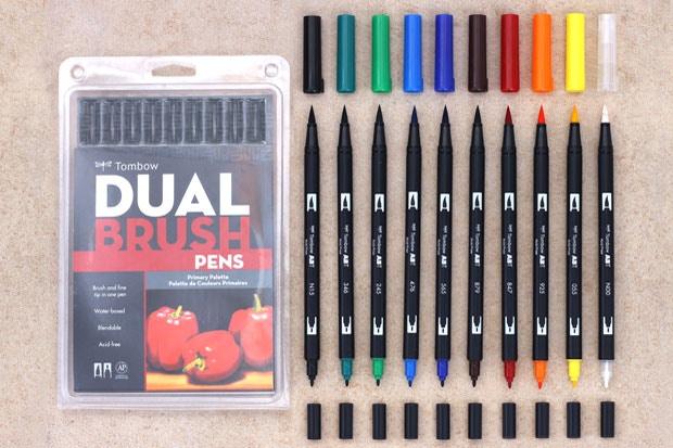 the best brush pens for art jetpens com