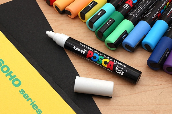 New Products Uni Posca Paint Markers Paper Mate Mini