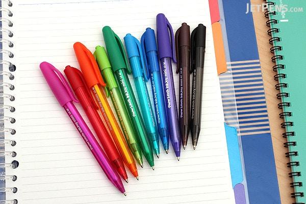 ... Paper Mate InkJoy Mini Pens - Retractable - 10 Color Set - PAPER MATE  1951383 ...