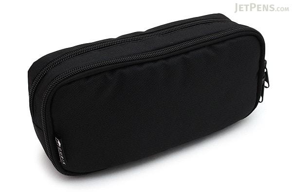 Cubix Round Zip Box Pen Case - Black - CUBIX 106163-15-95 ...