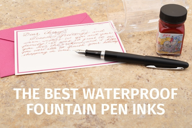 The Best Waterproof Fountain Pen Inks | JetPens