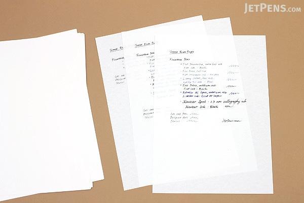 Tomoe River Paper A5 White 100 Sheets Jetpens Com