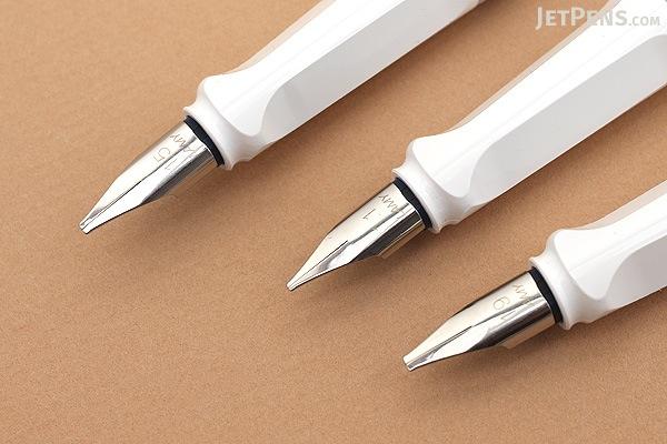 Lamy Joy White Calligraphy Fountain Pen Set