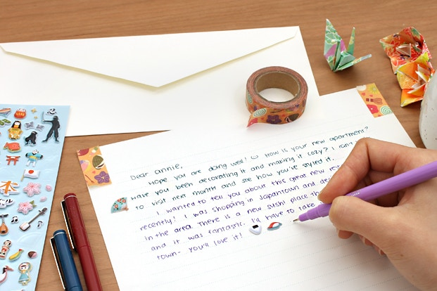 Snail mail the art of letter writing jetpens writing a letter to a pen pal spiritdancerdesigns Images